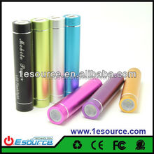 Best seller 2600mah mini mobile phone charger with LED light