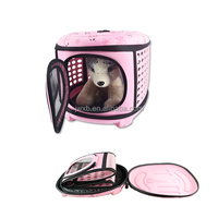 luxury modern pet products foldable carrier cats
