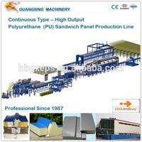 Guangxing Automatic Continuous Polyurethane PU Sandwich Panel Production Line