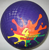 Newest new arrival modern smile face playground ball 8.5''