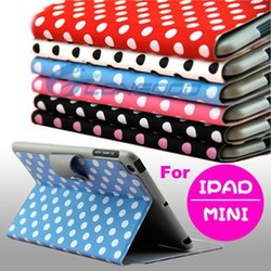 Hot Cute Leather Belt Clip Case For Ipad Mini(MPAD-012)