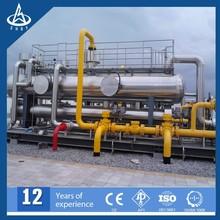 API Skid mounted natural gas gathering and transporting station