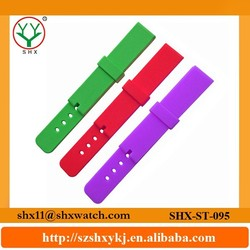 Durable material and favorable price silicone watch different strap band