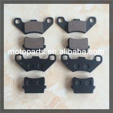 Hot sale BR250 Brake Pads for Motorcycle/atv/go kart/minibike