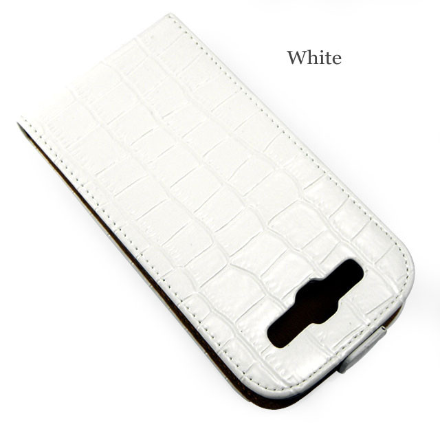 White Galaxy S3 leather case