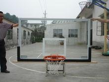 Aluminium Frame Transparent Tempered Glass Basketball Backboard