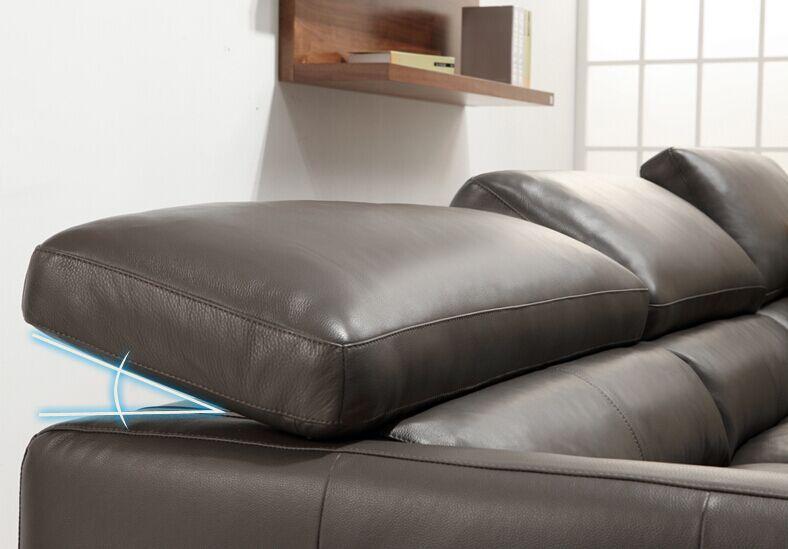Moderne en cuir canap set pour salon meubles style for Nettoyage salon cuir