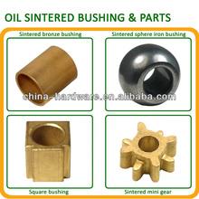 oil sintered bronze square hex bore oiless bearing,self lubricate oilless bearing,sleeve/flange/ball industrial sliding bearings