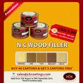 Masilla para Madera - Natural / Oak / Teca / Walnut / Haya