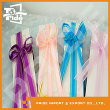 PR-TR112 Organza Ribbon Gold metallic ribbon Factory Ribbon