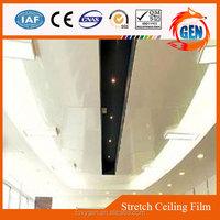 modern supermarkets false ceiling decorative safe plastic fireproof pvc film