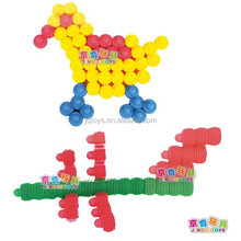 Kids' intelligence development 1060 plastic block toy