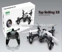 2014 Top Sale X6 2.4Ghz 6-Axis RC Mini Helicopter with Camera Radio Control Toy