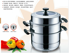 stainless steel 430 steamer cooker with induction base