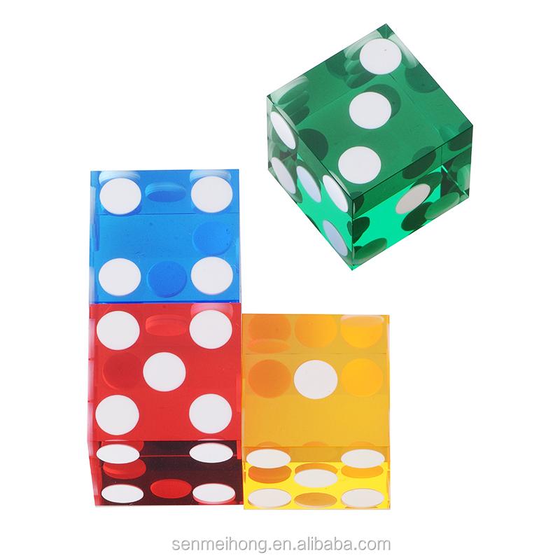 2015 melhor produção de venda personalizados dados do casino 19mm preciso