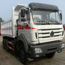 china suppliers Beiben North Benz 6x4 380hp 30-50ton heavy dump truck for sale
