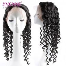 Hot sale italian curly full lace human hair wigs