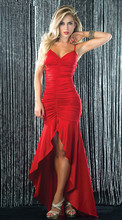 hot backless sexy braces dress slim long evening pleated dress cocktail prom fashion dress plus size