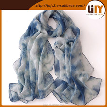 portugal ladies scarves in korea silk scarf for evening dress S1515