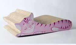 2015 Wholesale Corrugated Cardboard Cat Scratcher Cat Toys Cat Beds