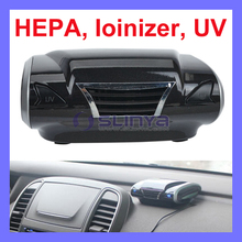 3 Million Negative Ions 99% Kill Rate High End Car Air Purifier with HEPA