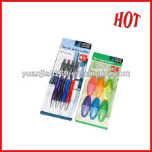 Top hot sales printing customized color card in 2012