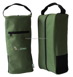 Advertising polyester golf shoe bag For outdoor events