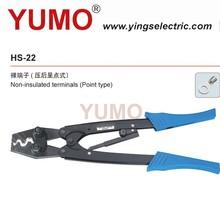 Yumo ( HS-22 ) AWG 5.5-28 mm2 ( japón ) de la ca socket soldadura Ratchet terminal herramientas que prensan