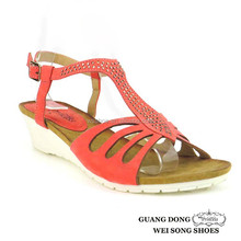 Shoes Woman High Heel Sexy Ladies Fancy Wedge For Sandals Making