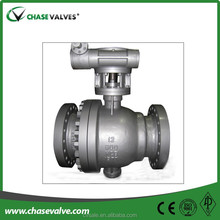 Bronze top quality panel mount actuated ball valve