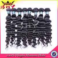 New loose wave brazilian remy 100% virgin cheap human hair weft 1kg