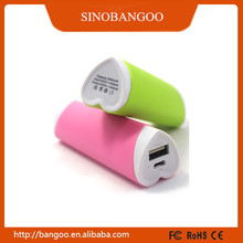 2015 top search gift power banks 2600mah for traveling