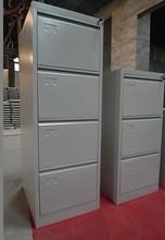 Matte white grey steel storage cabinet drawer cabinet
