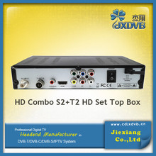 Full HD DVB T2+S2 combo digital satellite receiver
