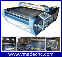 auto feeding fabric laser cutting machine roller