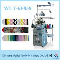 3 1/2 AND 3 3/4 INCH 180N sock knitting machine to make Jaquard men 180N sock