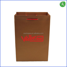 Paper Bags with Logo Print / Luxury Paper Shopping Bag for Shoes