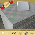 diseño popular, techo de yeso de PVC blanco de madera del grano de oro