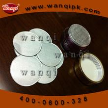 pure aluminum foil pressure sensitive sealing liner for medical marijuana packing