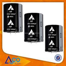 HF 200V 330UF 25X25 Aluminum electrolytic capacitor