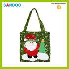 Papai noel sacolas de presente feliz natal saco de doces popular de Santa do natal sacos