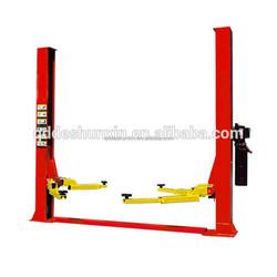 Qingdao launch car lift 2 post auto car lift/small home elevator/car auto repair equipment