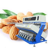 nut grading machine, almond sorting machine,peanut snack prossing machine