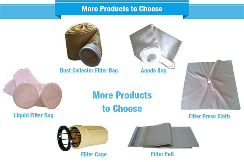 "5 Micron 7""x17"" Polyester Felt Filter Bag (Bag Filters)"
