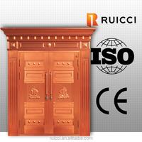 copper villa entry door for customize