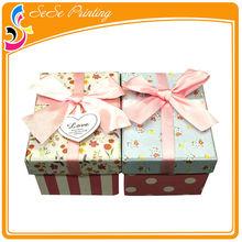 Colorful house shape gift box