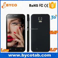 cheap mobile phone/5.0MP camera 5 inch dual sim china smartphone /factory oem mobile