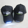 OEM Promotional 6 Panel Custom Sports LED cap cotton mesh brand golf cap B018--Snapback cap
