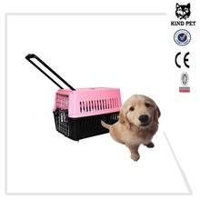 2015 pet carrier on wheels/trolley pet carrier