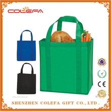 2015 european style fashion bags Open Top recycled colorful pictures printing non woven shopping bag